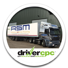 Driver Certificate of Professional Competence. CPC