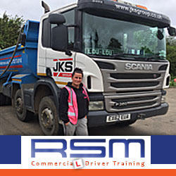 Passing the HGV Driving test