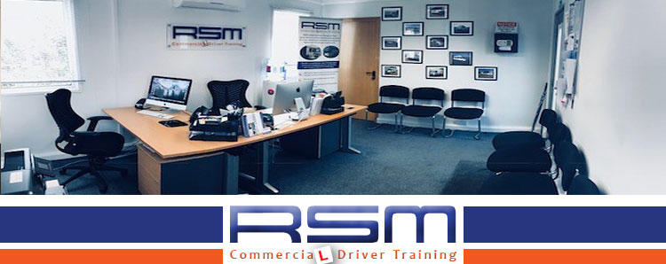 RSM Commercial Driver Training facilities