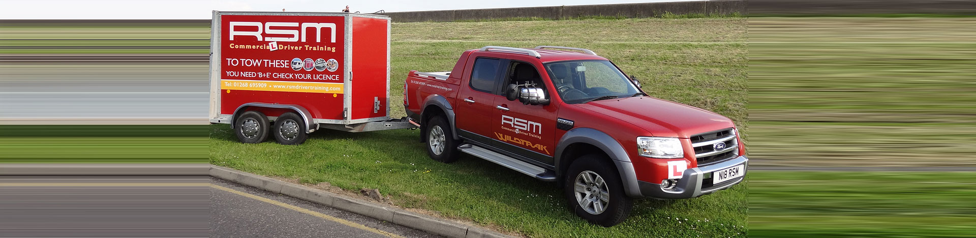 Trailer Towing Training in Essex