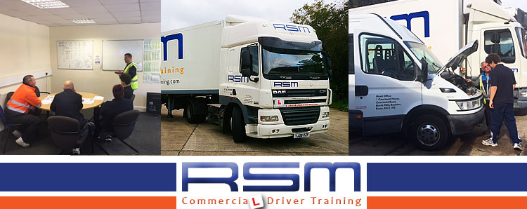 Commercial driver training induction