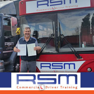 Stuart Passes PCV Licence With 0 Minor Faults