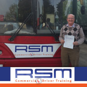 Tony Passes PCV Driving Test At 77
