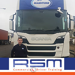 Trained HGV Driver at Maritime