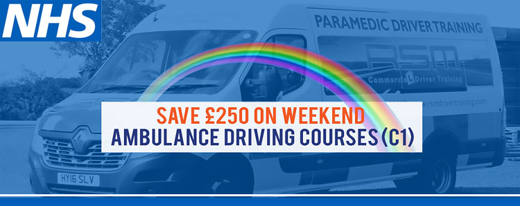 Weekend ambulance driver training courses